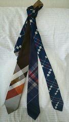 ネクタイ3本セット       D