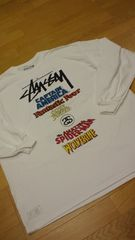 STUSSY �í���MARVEL����WORLD TOUR��T ���ܲ� 3XL XXXL