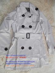 2L灰肌*16秋冬最新作.大きいサイズ*ベルト付き光沢トレンチ風ロングコート