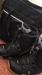 スノ-ブーツワイヤー式サイズ26cm&ケース付き美品レベル