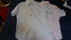 ユナイテッドアローズ、メンズ半袖シャツ2枚セット
