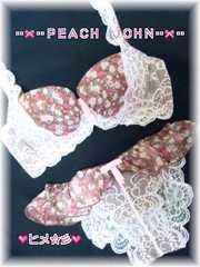 新品pj♪ボリュームUP♪フェアリーフラワーデコルタンブラ&ショーツset♪花柄pinkレース♪