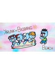 BIGBANG 公式リゾート ビーチBIGタオル