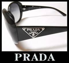 PRADA サングラス ブラックグラデーション SPR27L 三角ロゴプレート 30240円 新品