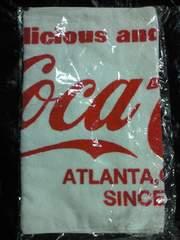 コカ・コーラ コカコーラ ブランド ロゴ デザイン プリント タオル ホワイト レッド 薄手