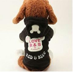 《新品》小型犬Lsize 可愛いフード付トレーナー
