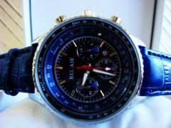 新作◆正規BELAIR◆ブルーパイロットウォッチ◆ブライトリング系