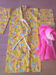 浴衣**黄色