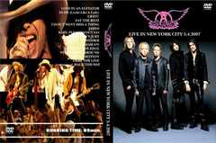 �ᑗ��������AEROSMITH LIVE NEW YORK CITY 2007 �G�A���X�~�X