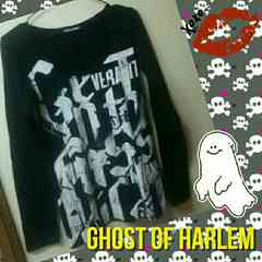 Ghost of Harlem★USED★長袖Tシャツ黒