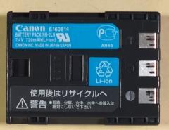 CANON(キャノン)ビデオカメラ用バッテリー,NB-2LH,純正,中古
