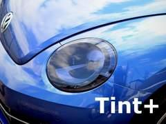 Tint+吸盤効果 VW ザ・ビートル16CBZ系 ヘッドライト スモークフィルム