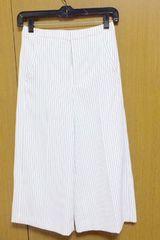 VICKYガウチョパンツ サイズ0  ストライプ