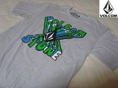 即決 本場USA購入VOLCOMボルコムストーン半袖TシャツUS S(Gray)