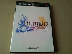 PS2☆ファイナルファンタジーX☆FF10。ディスク2枚組版♪