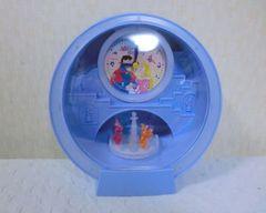 回る!ディズニープリンセスオーロラ姫アラーム付き置き時計