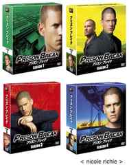 プリズンブレイク シーズン1〜4全巻セット DVD 新品未開封 コンパクトBOX