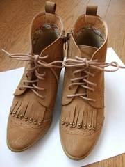home circus サイドジップ パンプス 2WAY 靴 レディース 美品