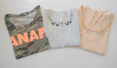 迷彩柄Tシャツ☆ネックレス付きノースリー☆まとめ売りセシルマクビーなど