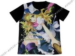 東方project プロジェクト◆Tシャツ◆黒◆霧雨魔理沙◆新品