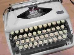 タイプライターオランダ西部ホラント製美品激レア
