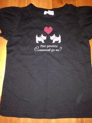 ポンポネット  Tシャツ 120
