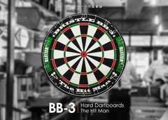 ハードダーツボード BB-3 ハードダーツ規程の13.5インチ