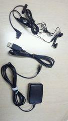 サムスン 708SC 急速充電器&ステレオイヤホンマイク&USBケーブルソフトバンク