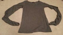 袖がかわった長袖Tシャツ Mサイズ
