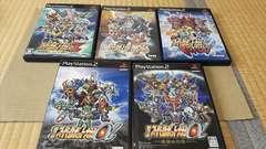 PS2☆スーパーロボット大戦シリーズ☆5本まとめ売り♪状態良い♪