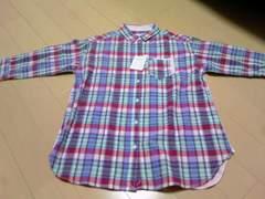 ラグラン ロゴ半袖Tシャツ 2way M