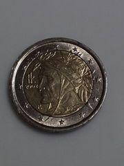 イタリア 2ユーロ硬貨 通常コイン 2002年 流通品