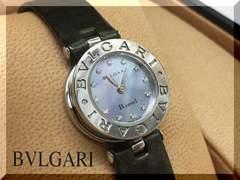 ☆ブルガリ☆ビーゼロ1 12PD ブルーシェル文字盤 腕時計