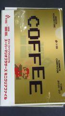 キリン、ファイアFIREスーパーマリオブラザーズミニクリアファイル5枚セット新品未開封非売品