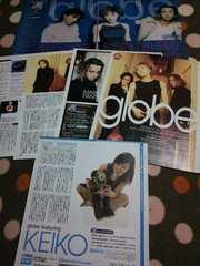 globe 1999〜2000 切り抜き 10ページ  KEIKO