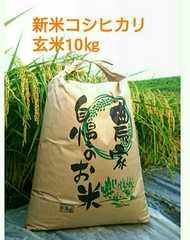 ほどよい甘みと粘りの茨城28年産新米コシヒカリ玄米10�s