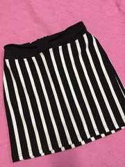 ストライプ スカート