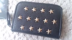 即決 インスタ大人気完売 新品 しまむら 星スタッズ 小銭入れ 財布