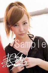 【送料無料】 AKB48板野友美 写真5枚セット<サイン入>25