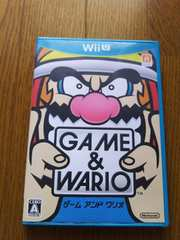GAME&WARIO/Wii Uソフト/中古
