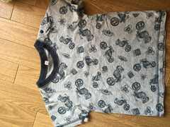 グレー☆バイクTシャツ☆95�a