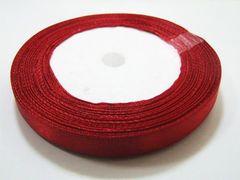 片面サテンリボン 赤 10mm幅23m巻