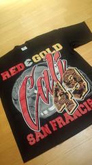 LA直輸入 RED&GOLD Tシャツ 黒ブラック サイズ2XLXXL G�C
