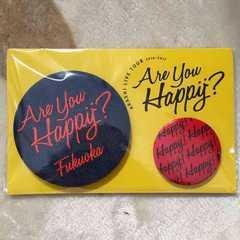 嵐 Are you Happy? 会場限定バッチセット 福岡(赤)
