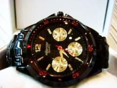 新作希少◆フルブラックロレックスデイトナTYPE 高級VITAROSO腕時計