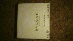 BVLGARI   pour Femme  5ml
