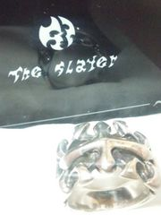 ザ・スレイヤー【THE SLAYER 】SV925 クロス リング 16.5号