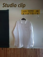 《Studio clip》即決♪大きいサイズ/ストライプシャツ/羽織り◎
