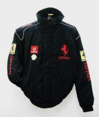 ◎限定送込み フェラーリ シンプル黒ブルゾンL 14