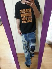 EAST END / 半袖ロゴ入りTシャツ